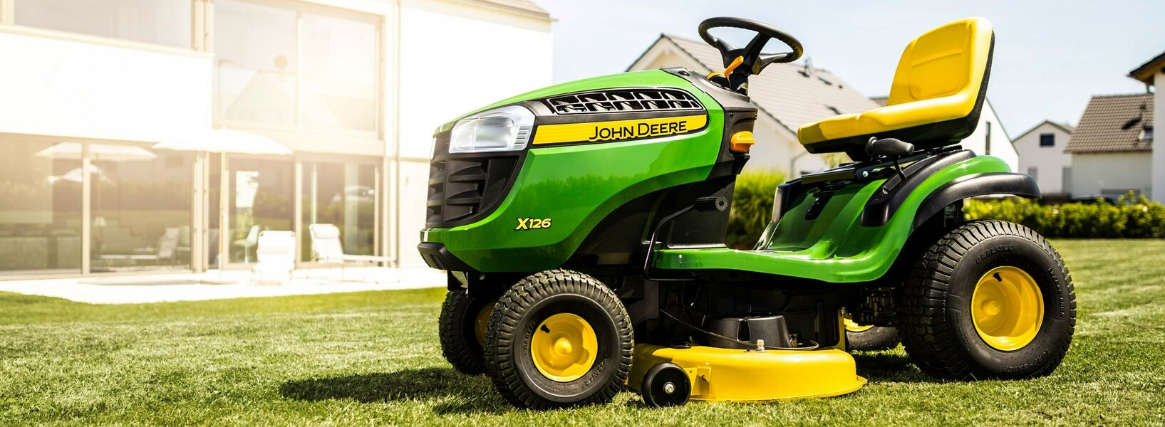 Photo of X126 lawn tractor